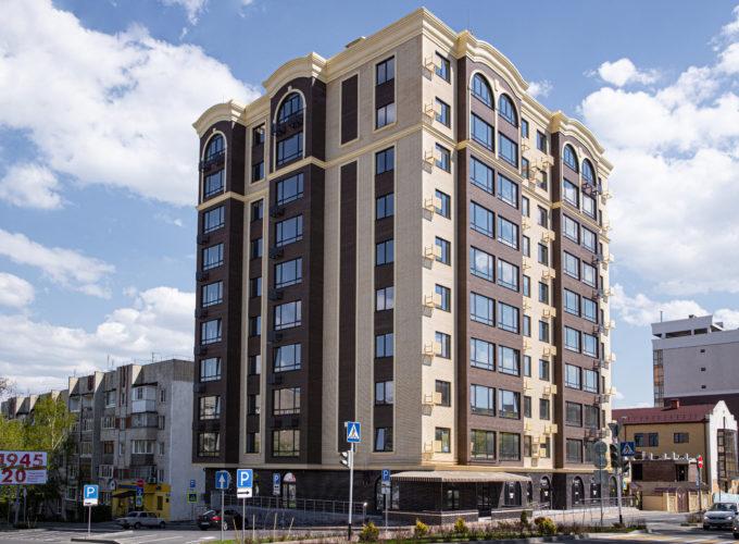 Многоквартирный жилой дом со встроенными помещениями и паркингом по адресу г. Ставрополь, ул. Р. Люксембург 24
